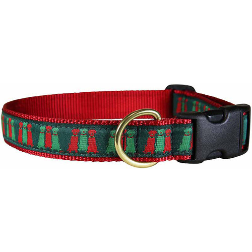 "Three Wise Labs 1"" Dog Collar"