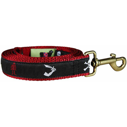 Pirate Flags Dog Leash