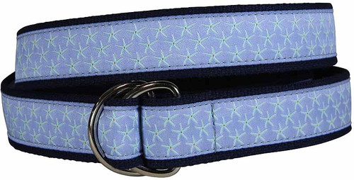 Starfish D-Ring Belt - Periwinkle