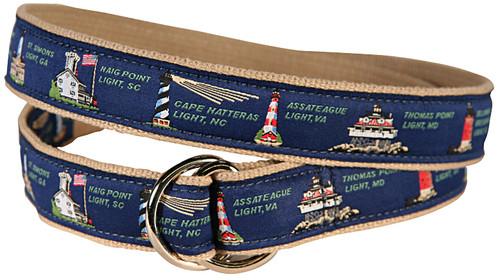East Coast Lights D-Ring Belt