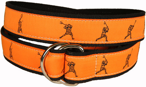 Lacrosse D-Ring Belt - Orange