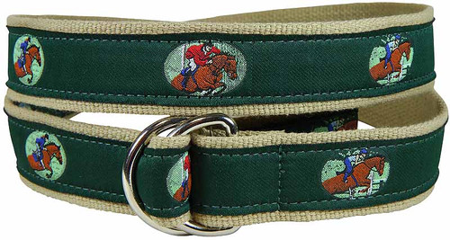 Equestrian Jumping D-Ring Belt