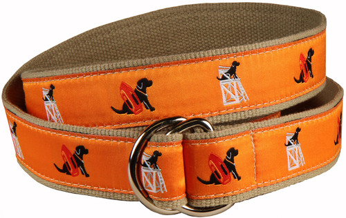 Guard Dog D-Ring Belt - Orange