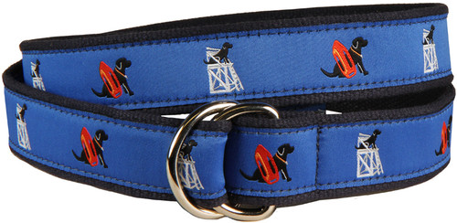 Guard Dog D-Ring Belt - Blue