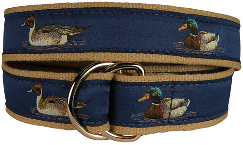 Ducks D-Ring Belt - Blue