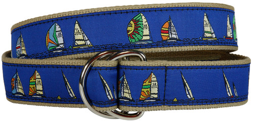 Rounding the Mark D-Ring Belt - Navy