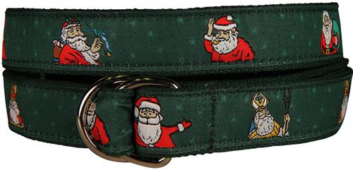 Santa D-Ring Belt