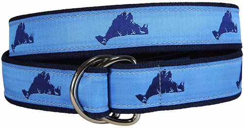 Martha's Vineyard D-Ring Belt