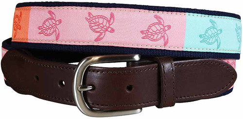 Turtle Sorbet Leather Tab Product Image