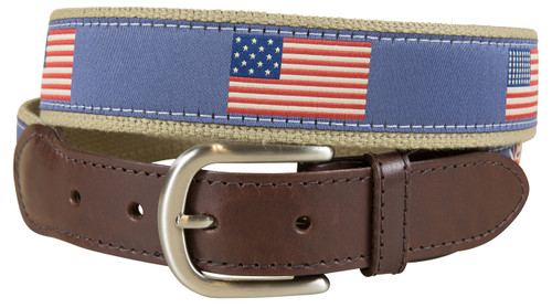 Historical US Flags Belt