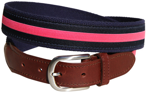 Classic Stripe (Pink/Navy)