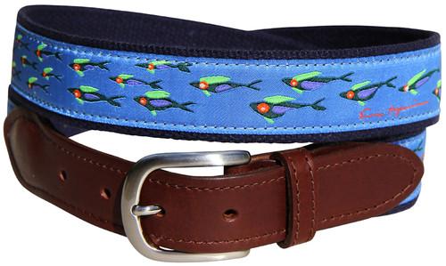 Eric Hopkins Fish School Belt