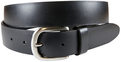 Cadillac Black Latigo Leather Belt
