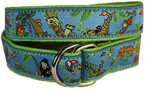 Jungle Jam Youth D-ring Belt