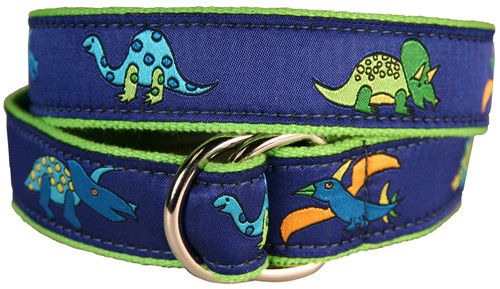Dinosaurs Youth D-ring Belt