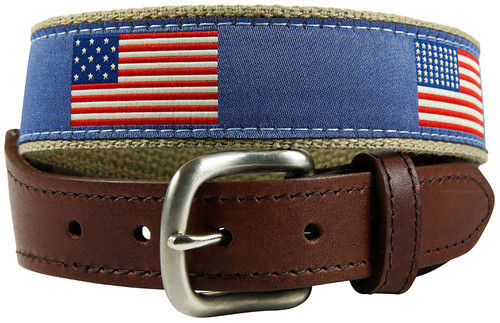 Youth American Flag Belt