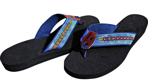 Rowing Sweep Flip Flops