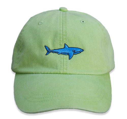 BC Shark Hat on lime