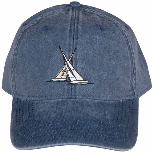 Match Race Hat | Washed Navy