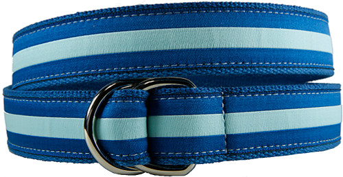 Twilight Stripe D-ring Belt