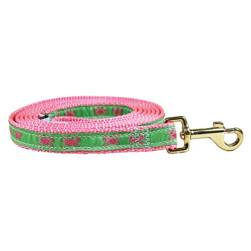 Crab (Pink&Green) Dog Lead