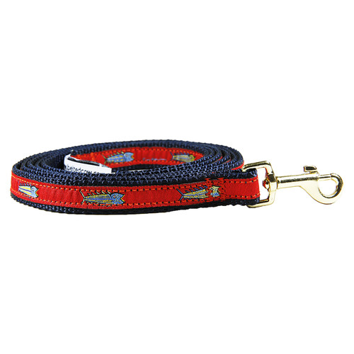 Hopkins Fish (Red) Dog Lead