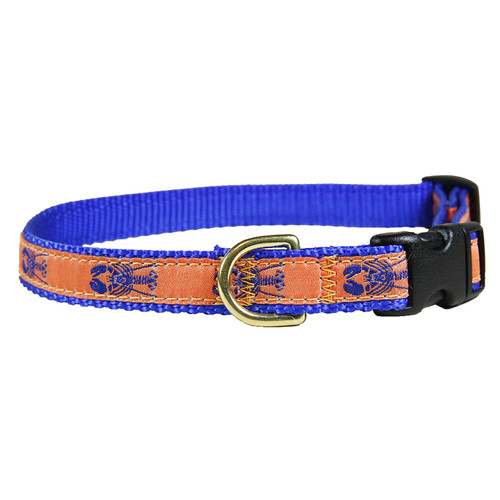 "Melon Lobster 5/8"" Dog Collar"