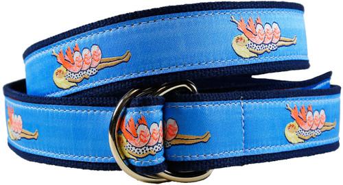 Shrimp on the Barbie D-ring Belt