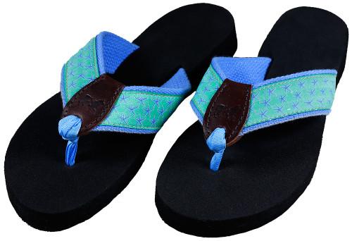 Starfish Flip Flops | Jade