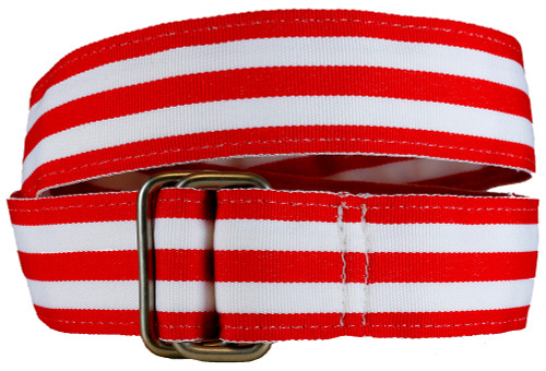 Red Grosgrain Belt