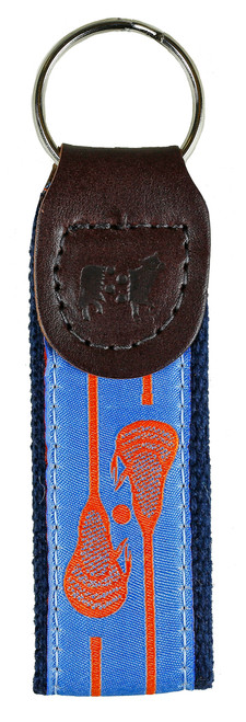 Lacrosse Key Fob | Blue