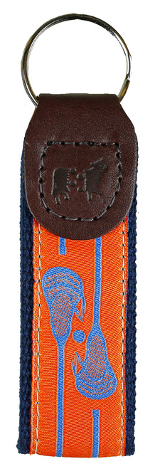 Lacrosse Key Fob | Orange
