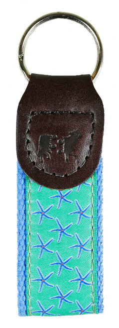 Starfish Key Fob | Jade