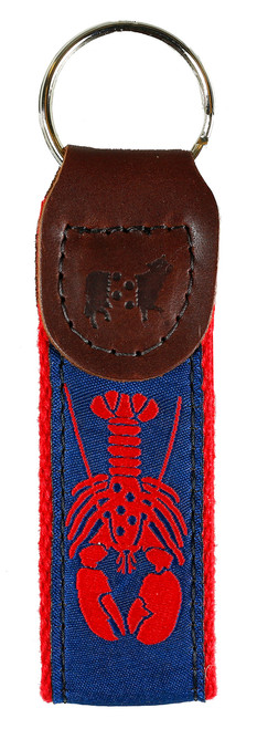 Lobster Key Fob | Navy