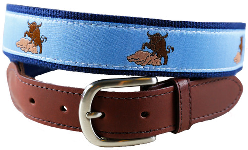 Bull & Bean Leather Tab Belt