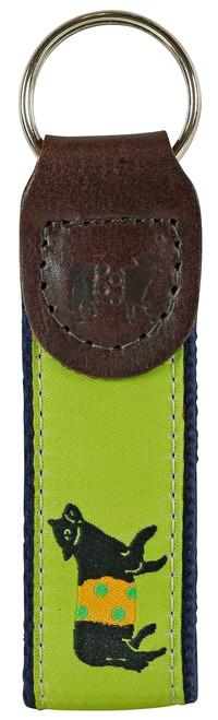 Beltie Key Fob   Lime