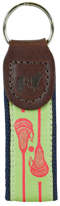 Lacrosse Key Fob | Lime