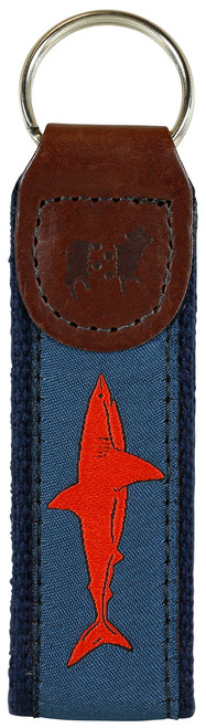 Shark Key Fob | Blood Red