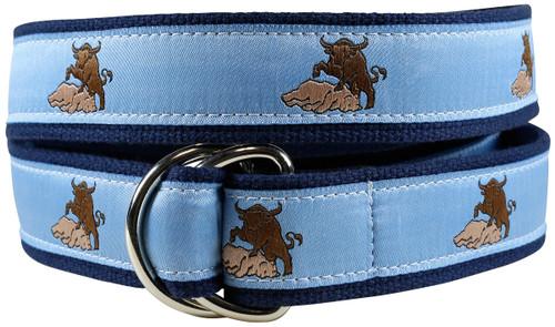 Bull & Bear D-ring Belt