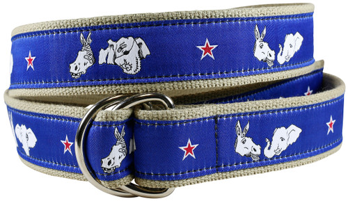 Donkey & Elephant D-ring Belt