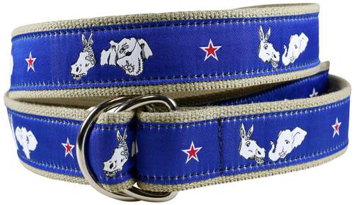 Donkey & Elephant D-ring Belt
