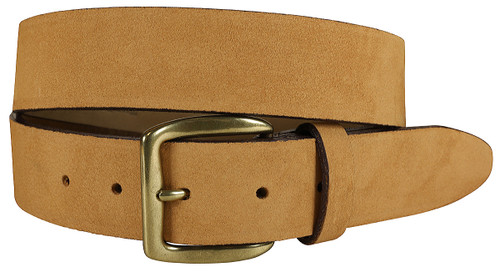 Montauk Leather Belt - Camel