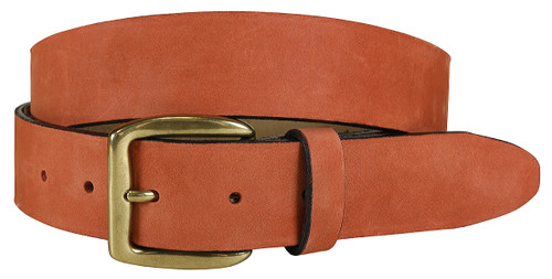 Montauk Leather Belt - Persimmon