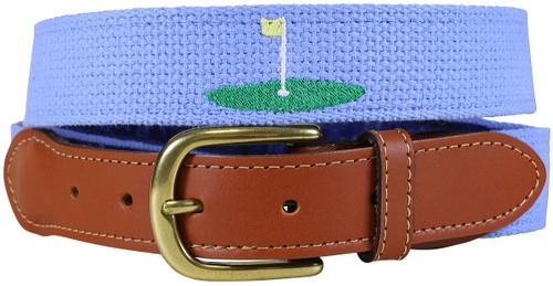 Bermuda Embroidered Belt - Golf