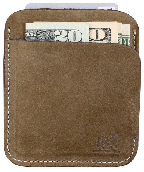 Portland Wallet in Seal Nubuck Leather
