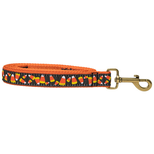 Candy Corn Dog Leash