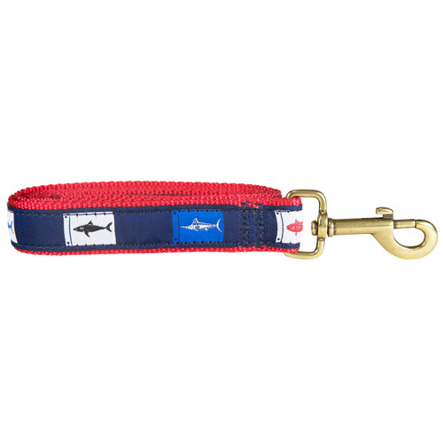 Fish Flags Dog Leash