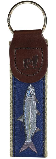Tarpon Key Fob - Marine Blue