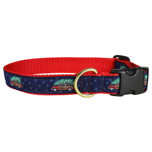 Woodie & Tree Dog Collar - 1 Inch