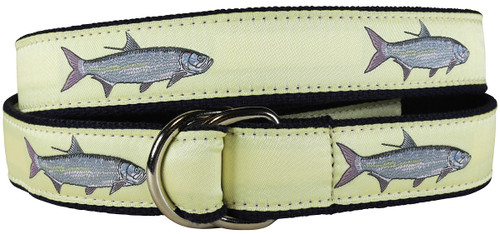 Tarpon D-ring Belt - Butter